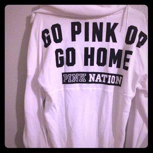 Pink Victoria's Secret hoodie